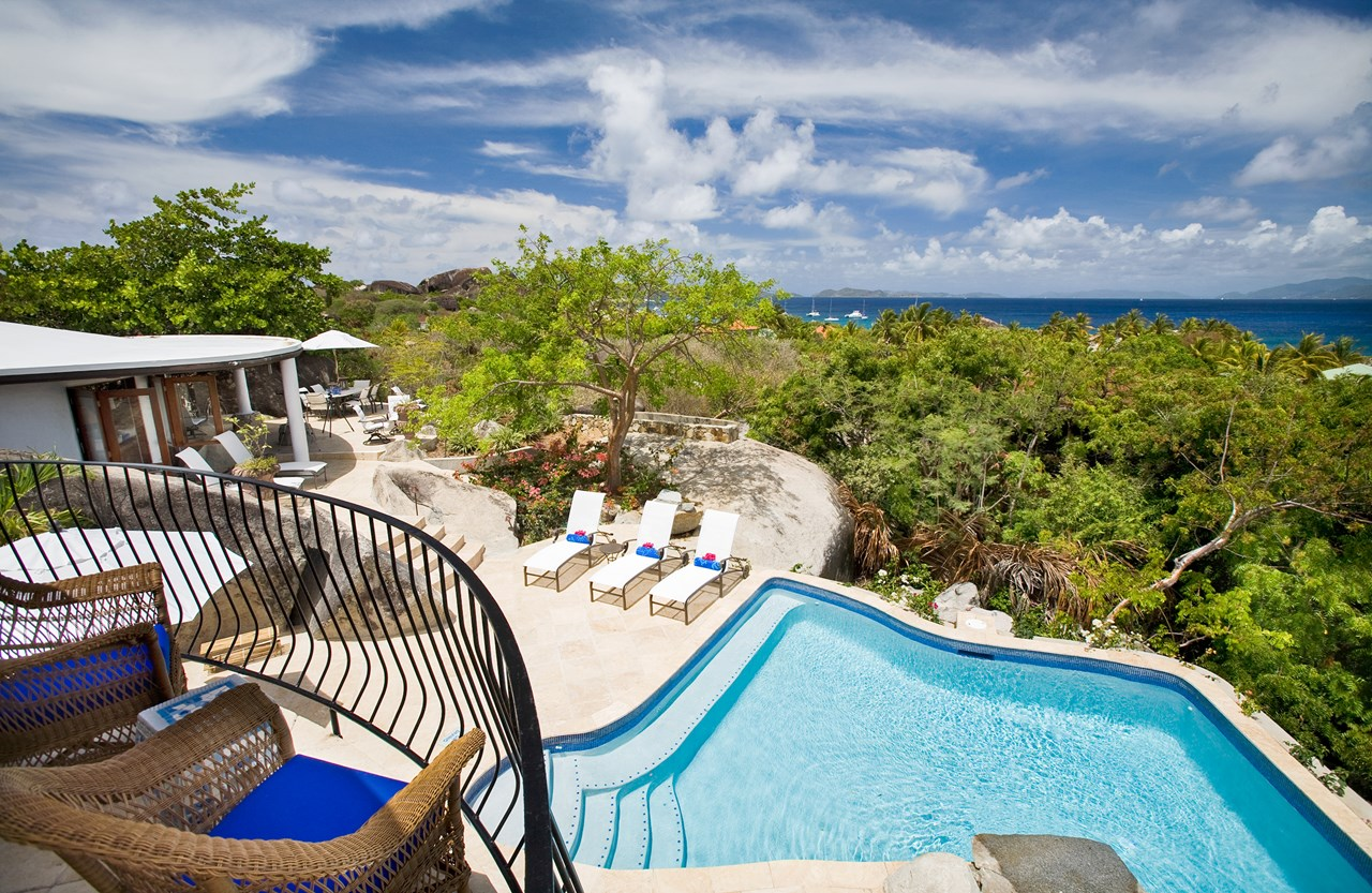 WIMCO Villas, MAV OTR, Virgin Gorda, Walk/The Baths, 4 bedrooms, 4 bathrooms