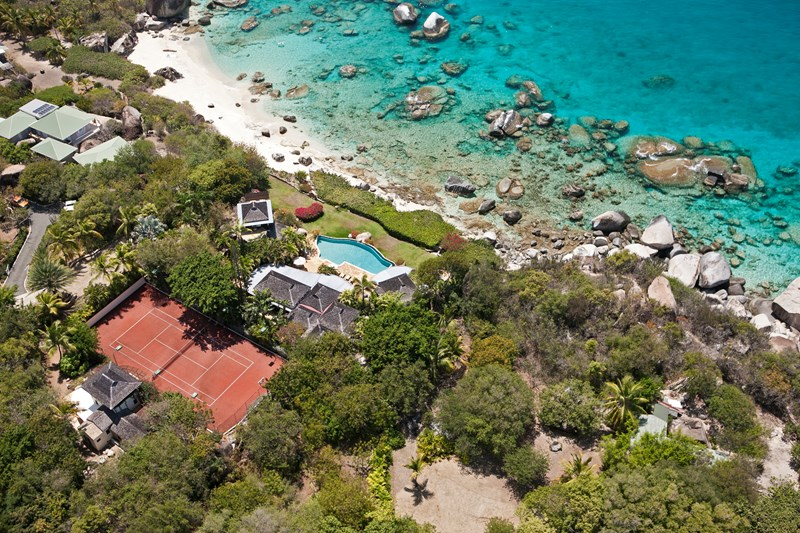 Virgin Islands Tennis Vacation Villas in Virgin Gorda from WIMCO Villas