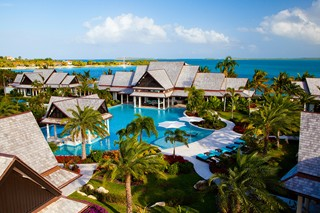 WIMCO Villas, Jumby Bay, A Rosewood Resort, Antigua, Aerial, Book now with WIMCO Villas