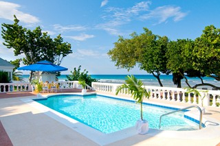 WIMCO Villas, Half Moon, A RockResort, Jamaica, Villa Pool, Book now with WIMCO Villas