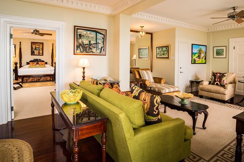 WIMCO Villas, Half Moon, A RockResort, Jamaica, Living Room, Book now with WIMCO Villas