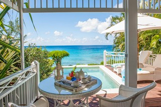 WIMCO Villas, Cotton House, Mustique, Terrace, Book now with WIMCO Villas
