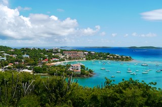 WIMCO Villas, Caneel Bay, St. John, View from Villa, Book now with WIMCO Villas