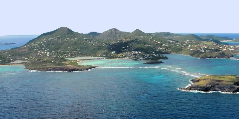 WIMCO Villas, St Barths, Destinations, Aerial, Caribbean, St Barthelemy