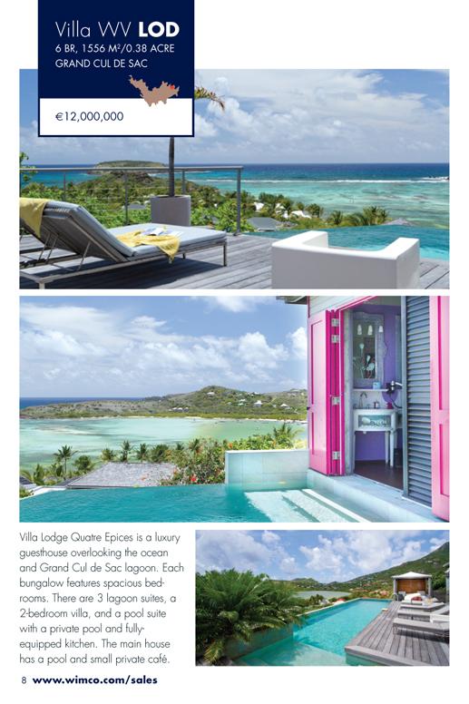 WIMCO Villa for sale, Villa Seascape, WV LOD, Grand Cul De Sac, St Barths, 6 Bedrooms, 6 Bathroom Villa, .38 Acres