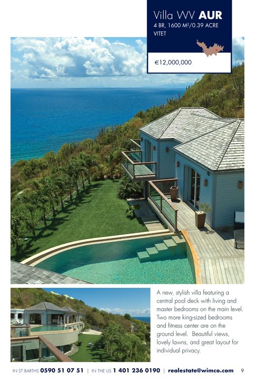 WIMCO Villa for sale, Villa Au Reve, WV AUR, Vitet, St Barths, 4 Bedrooms, 4 Bathroom Villa, .39 Acres