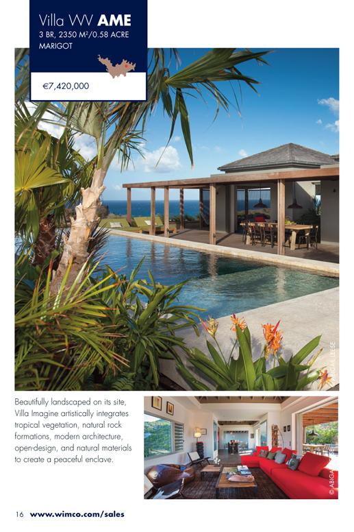 WIMCO Villa WV AME for sale, Villa Imagine, Marigot, St Barths, 3 Bedrooms, 3.5 Bathroom Villa .58 Acres