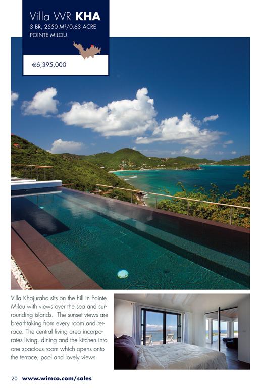 WIMCO Villa for sale, Villa Khajuraho, WV KHA, Pointe Milou, St Barths, 3 Bedrooms, 3 Bathroom Villa .63 Acres