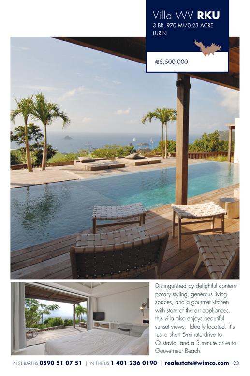 WIMCO Villas for sale, WV RKU, Lurin, St Barths, 3 Bedrooms Villa, .23 Acres