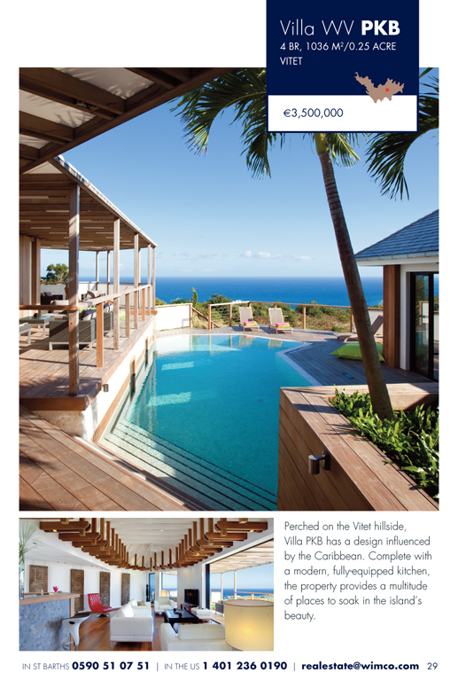 WIMCO Villa for sale,  WV PKB, Lorient, Vitet, 4 Bedrooms, 5 Bathroom Villa, .25 Acres