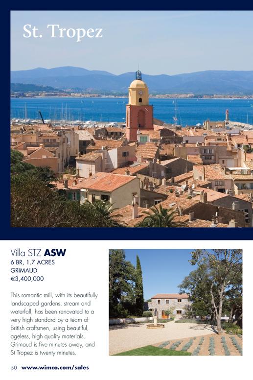 WIMCO Villa for sale, STZ ASW, Gassin, St Tropez, 6 Bedroom Villa, 1.7 Acres