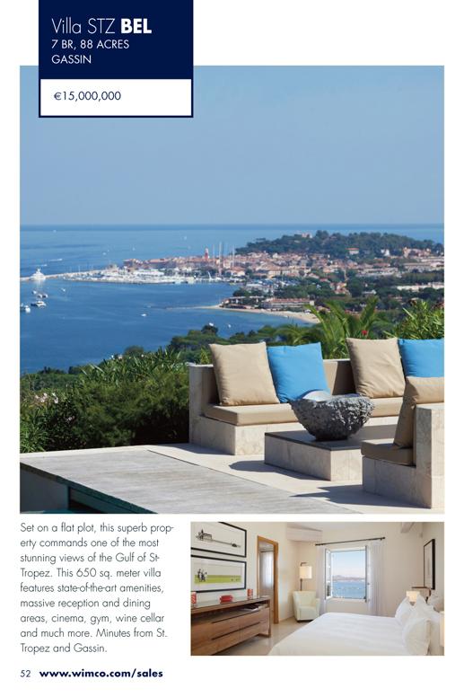 WIMCO Villa for sale, STZ BEL, Gassin, St Tropez, 7 Bedroom Villa, 88 Acres