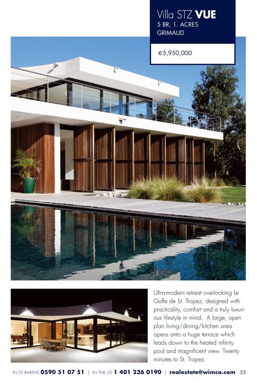 WIMCO Villa for sale, STZ VUE, Grimaud, St Tropez, 5 Bedroom Villa, 1.5 Acres