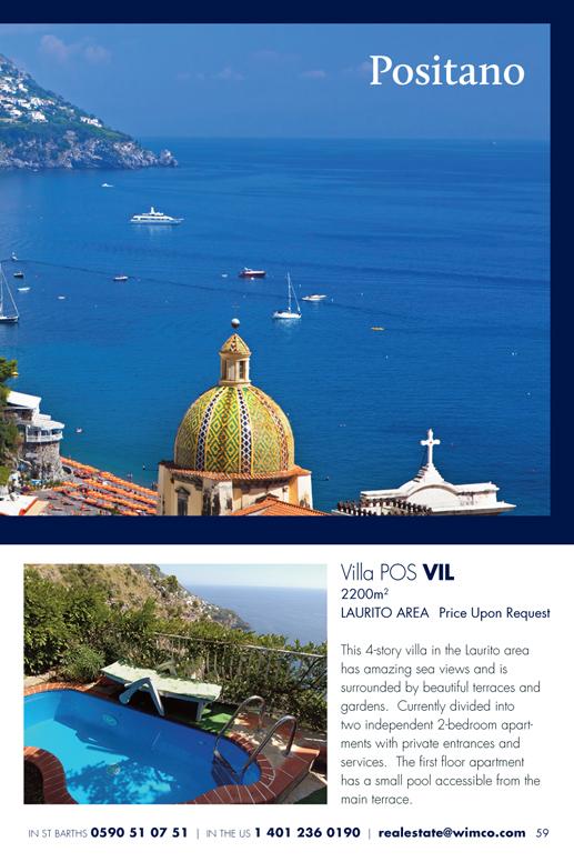 WIMCO Villa for sale, POS VIL, Positano