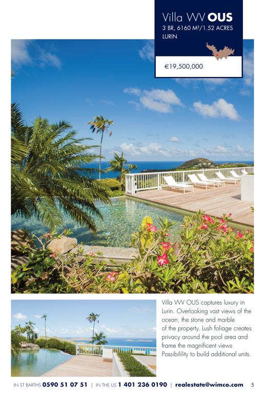 WIMCO Villa for sale, Villa L'Oustau, WV OUS,  Lurin, St Barths, 3 Bedroom, 3 Bathroom Villa, 1.52 Acres