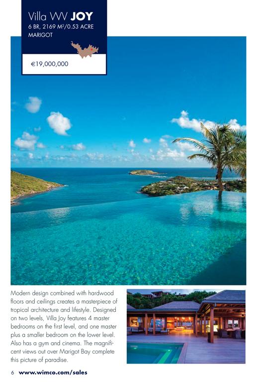 WIMCO Villa for sale, Villa Joy, WV JOY, Marigot, St Barths, 6 Bedroom, 6 Bathroom Villa, .53 Acres